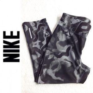 Nike Dri-Fit Marbled Capri Leggings
